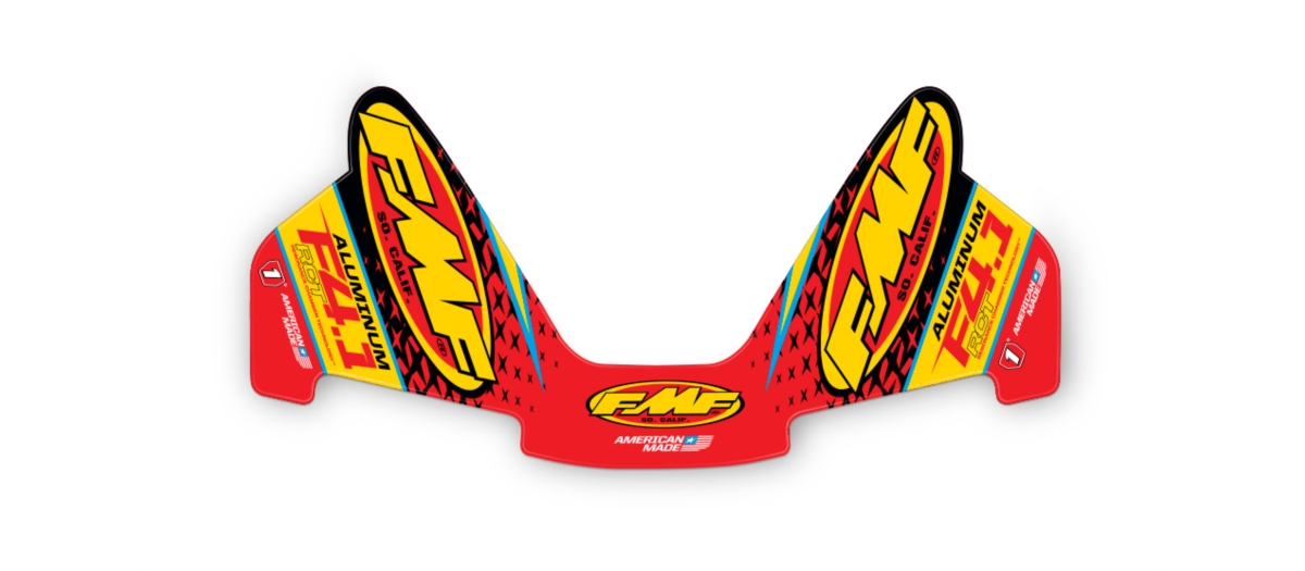 FMF FCTRY 4.1 ALUM RCT WRAP DECAL RPLCMT