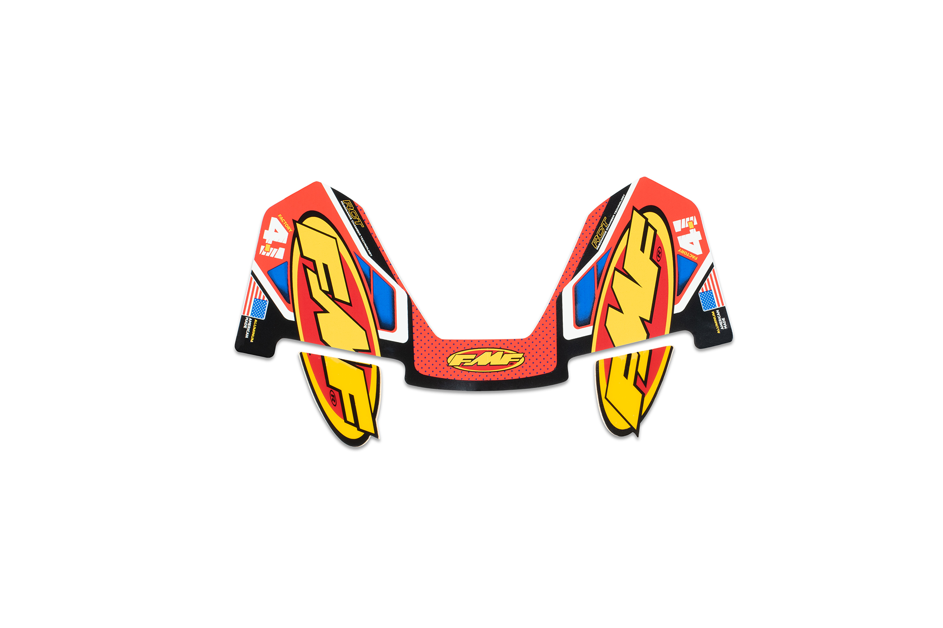 FMF FCTRY 4.1 ALUM RCT WRAP (NEW) DECAL REPLACEMENT