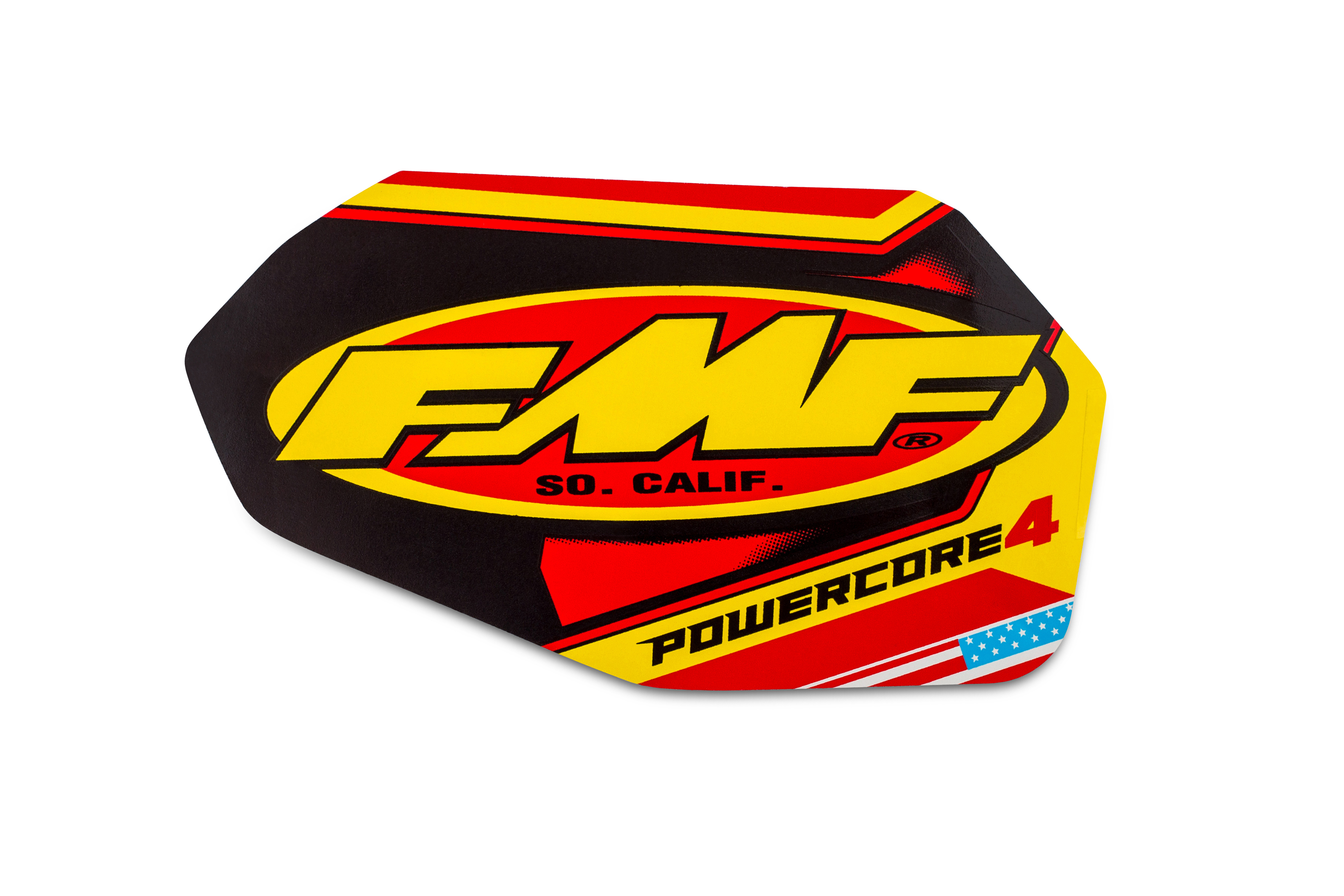 FMF P-CORE4 STRAIGHT 2-PART WRAP LOGO DECAL REPLACEMENT