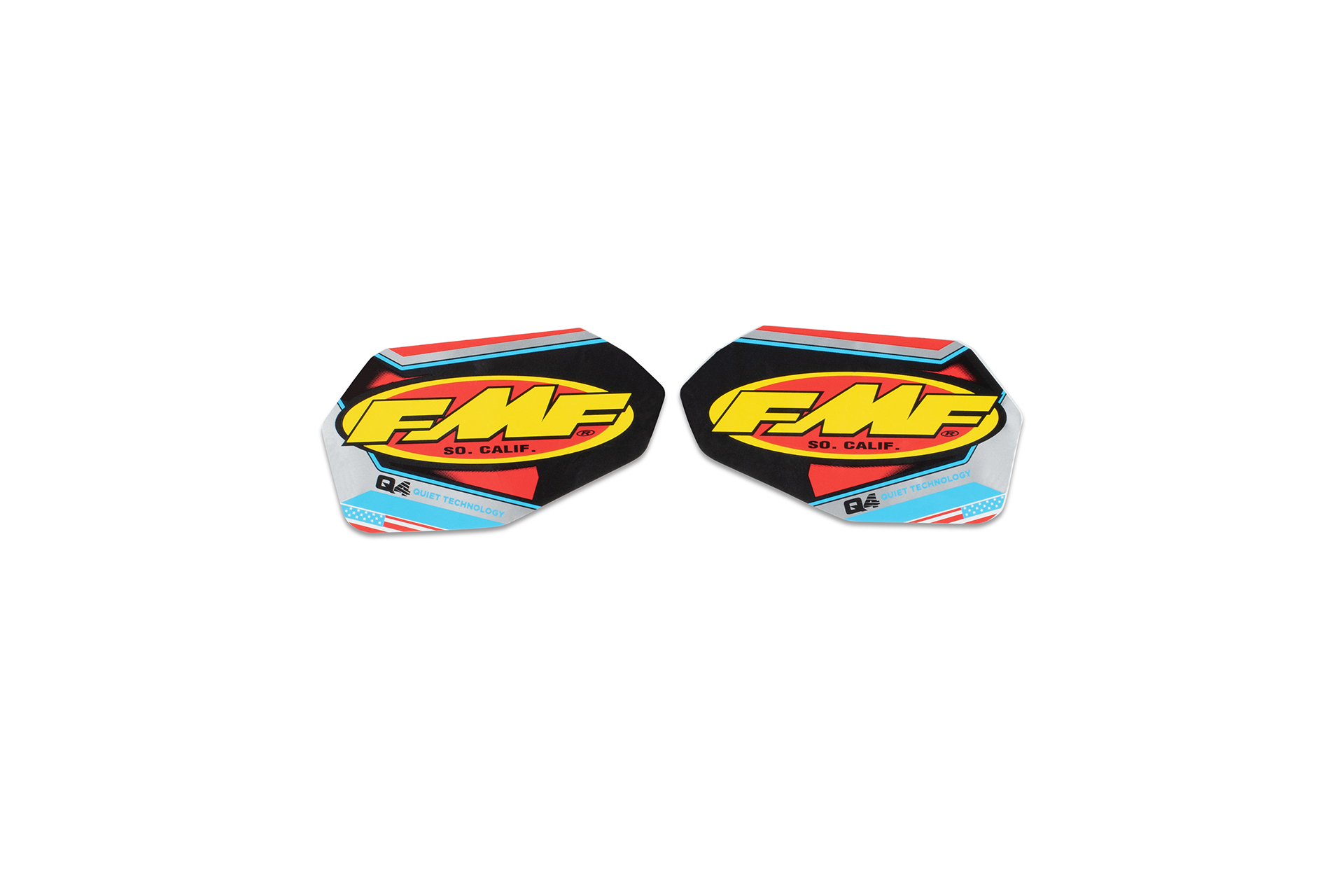 FMF Q4  2-PART LOGO DECAL REPLACEMENT 1807