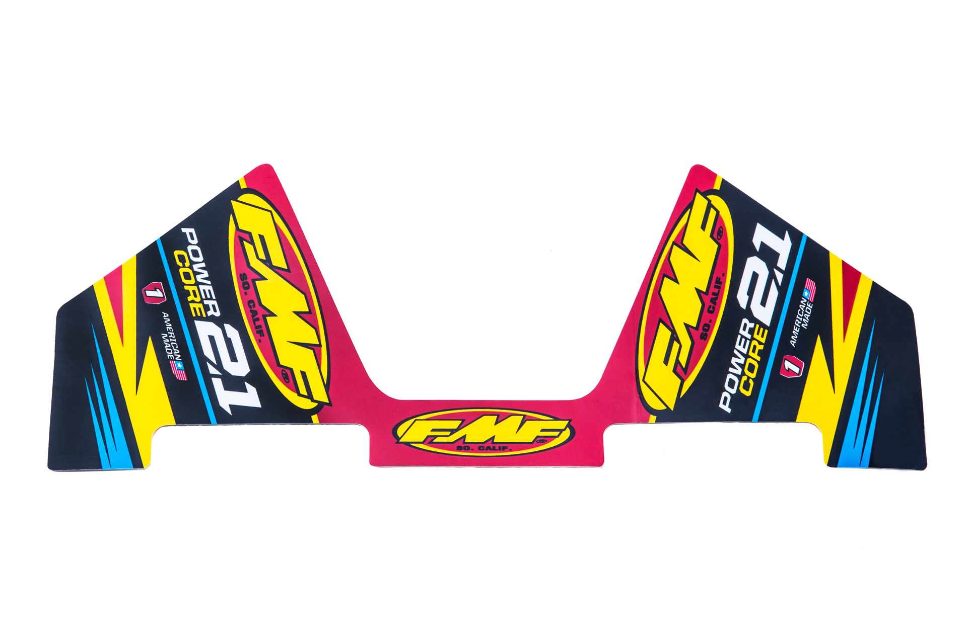 FMF POWERCORE 2.1 MYLAR DECAL REPLACEMENT