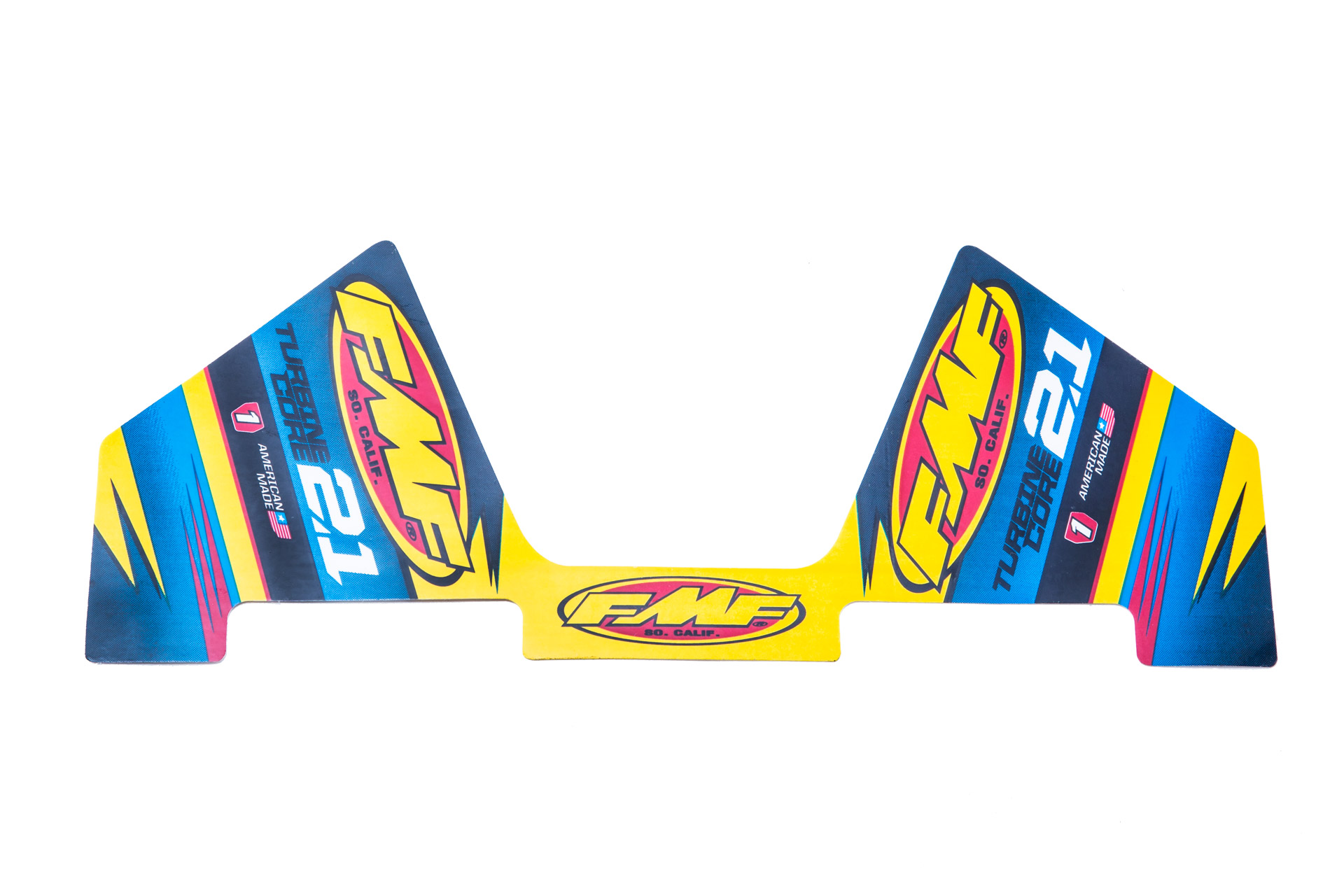 FMF TURBINECORE 2.1 WRAP MYLAR DECAL REPLACEMENT