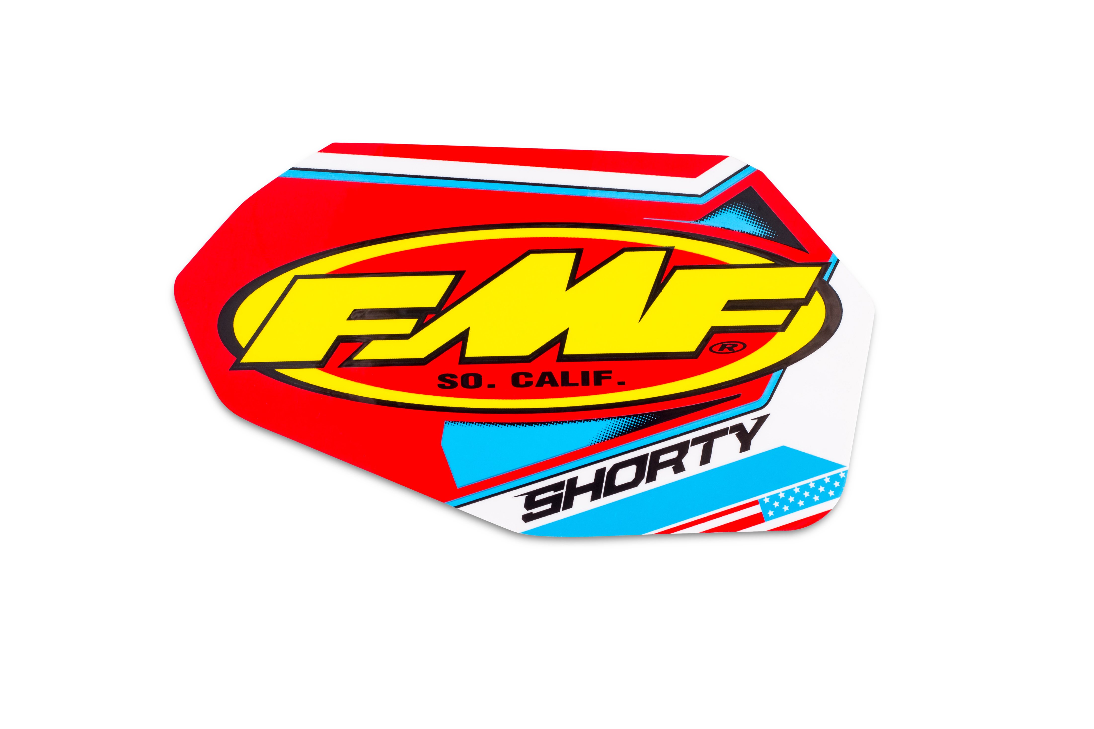 FMF SHORTY NEW VINYL DECAL REPLACEMENT