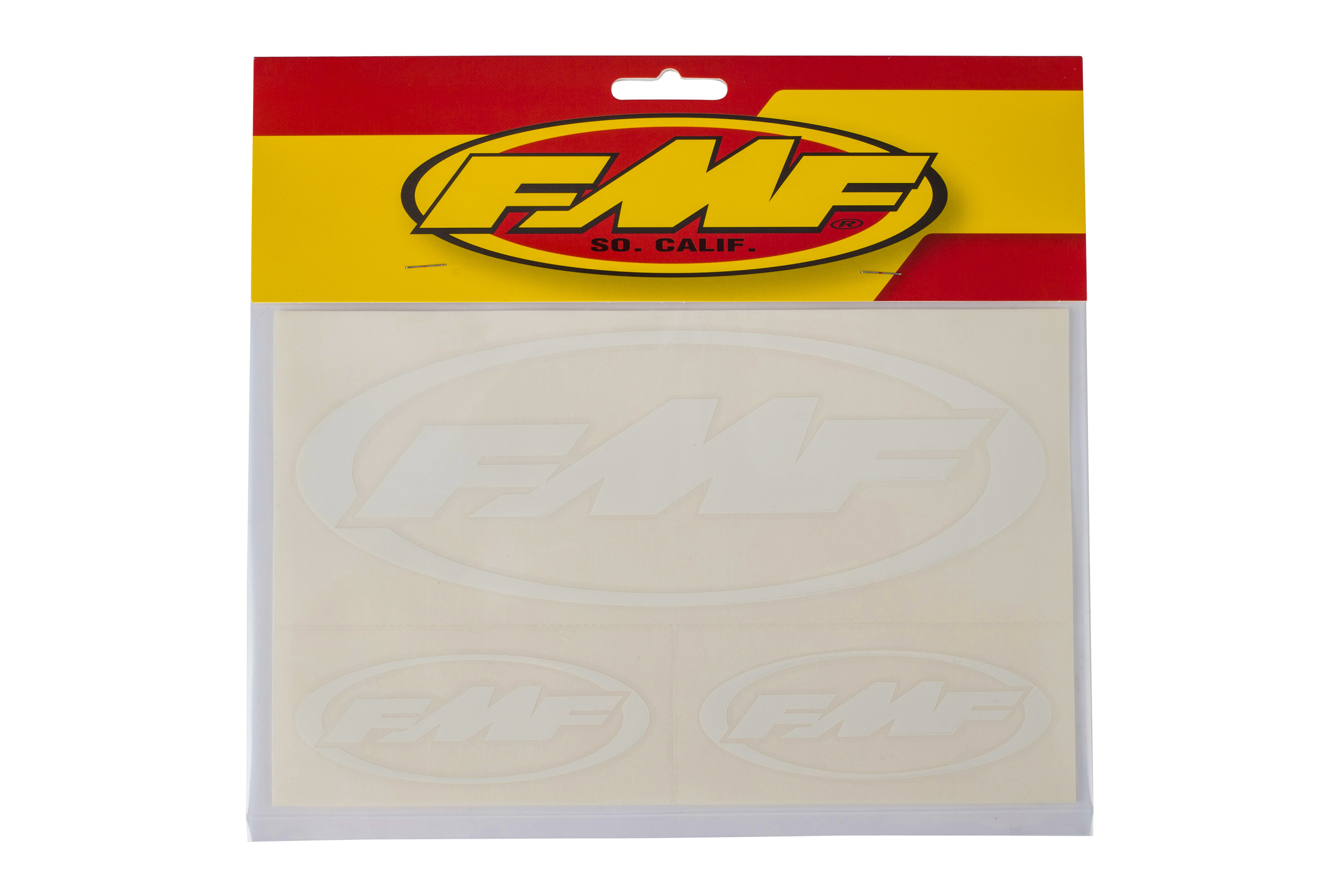 "FMF DIE CUT STKR SHEET (WHITE) 5.875"" x 9.5"" (010598)"